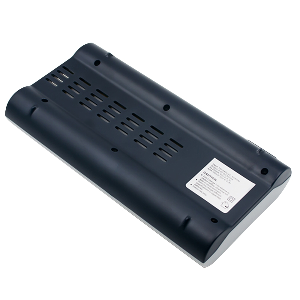100-240V 8 Slot Battery Charger for AA & AAA Battery, UK Plug