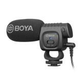 BOYA Portable Mini Condenser Live Show Video Recording Microphone for DSLR / Smart Phones