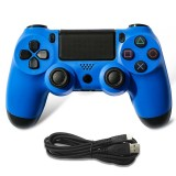 For PS4 Wired Game Controller Gamepad (Blue)