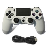 For PS4 Wired Game Controller Gamepad (White)