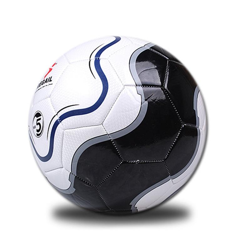 REGAIL No.5 PU Leather Machine Stitched Football