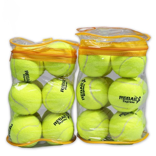 12 PCS Tennis Training Ball with Ball Bag