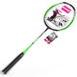 REGAIL 8019 2 PCS Carbon Durable Badminton Racket for Beginners (Green)