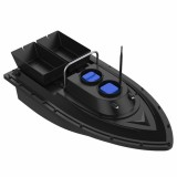 D11 2.4GHz Multi-function Intelligent Remote Control Nest Ship Fishing Bait Boat (Black)