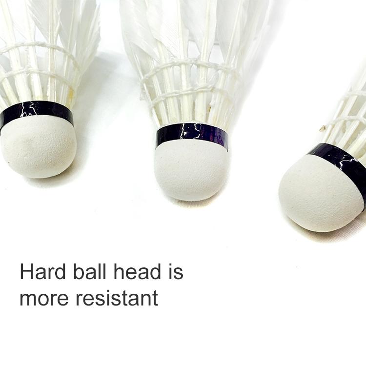 3 PCS Barrel Hard Head Badminton, Suitable for Home Entertainment