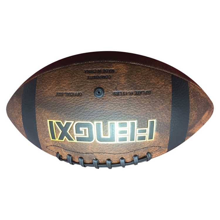 Style One No. 9 PU Leather Abrasion Resistant Rugby
