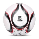 LEIJIAER 4401 No. 4 Double-layer Explosion-proof Wear-resistant Football for Children (Red)