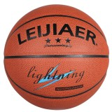 LEIJIAER BKT 750U 5 in 1 No.7 Classic PU Leather Basketball Set for Training Matches