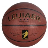 LEIJIAER BKT 760X 5 in 1 No.7 Matrix Texture Hygroscopic PU Leather Basketball Set for Training Matches