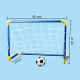Portable Plastic Door Frame Football Training Gate for Children