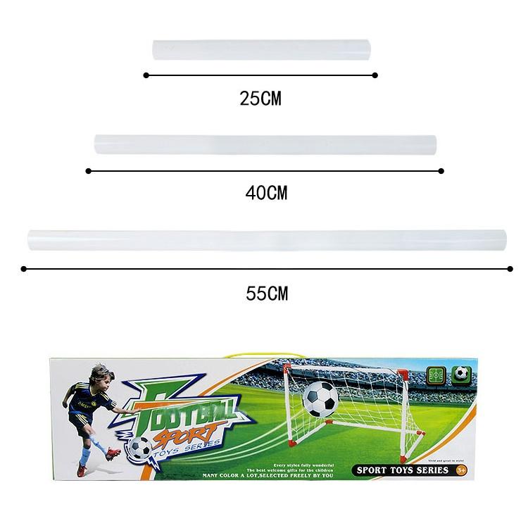 3 in 1 Plastic Door Frame Football Gate + Football + Inflator Set for Children