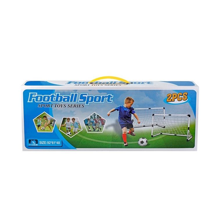 2 PCS Plastic Door Frame Football Gate for Children, Size: 92 x 61 x 48cm