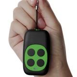 Colorful Four-Key Copying Remote Garage Door Gate Wireless Remote Control 433MHZ Copy Key Cloning Duplicator (Green)