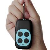 Colorful Four-Key Copying Remote Garage Door Gate Wireless Remote Control 433MHZ Copy Key Cloning Duplicator (Blue)
