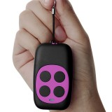 Colorful Four-Key Copying Remote Garage Door Gate Wireless Remote Control 433MHZ Copy Key Cloning Duplicator (Rose Red)