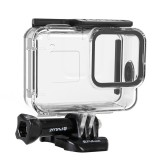 PULUZ 60m Underwater Depth Diving Case Waterproof Camera Housing with Soft Button for GoPro HERO8 Black