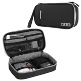 Multi-functional Headphone Charger Data Cable Storage Bag Portable Power Pack, Size: S, 24 x 12 x 5cm (Black)