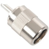 UHF Male PL259 / SO239 Twist-on RFC400 RG8 RF Coaxial Card Connector