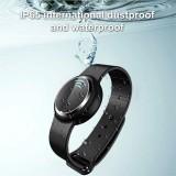 Ultrasonic Mosquito Repellent Electronic Mosquito Repellent Bracelet Outdoor Portable Watch Mosquito Repellent (Black)