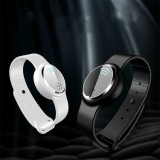 Ultrasonic Mosquito Repellent Electronic Mosquito Repellent Bracelet Outdoor Portable Watch Mosquito Repellent (White)