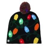 Christmas Decoration Adult Children Knit Hat with LED Light Hat (Lantern)