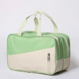 Fashion Large Capacity Portable Oxford Wet And Dry Separation Travel Bags (Green and Khaki)