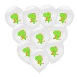 Birthday Party Dinosaur Latex Sequin Balloon Party Atmosphere Decoration Dinosaur Set, Style: Dinosaur Balloons