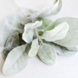 10 Branches Rayon Rabbit Ears Plant Branch Home Christmas Decoration Wedding Decoration (Green)
