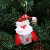 2 PCS Christmas Decorations Glow EVA Ornaments Christmas Tree Pendants (Old Man)