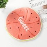 Cute Cartoon Lace Elastic Waterproof Fruit Pattern Shower Cap (Watermelon)