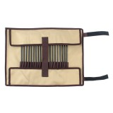 Outdoor Camp Nail Storage Bag Portable Simple Portable Tool Kit Tent Nail Storage Bag (Khaki)