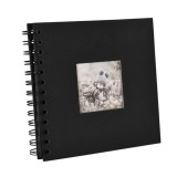 6 inch Baby Growth Album Kindergarten Graduation Album Children Paper Album (Black)