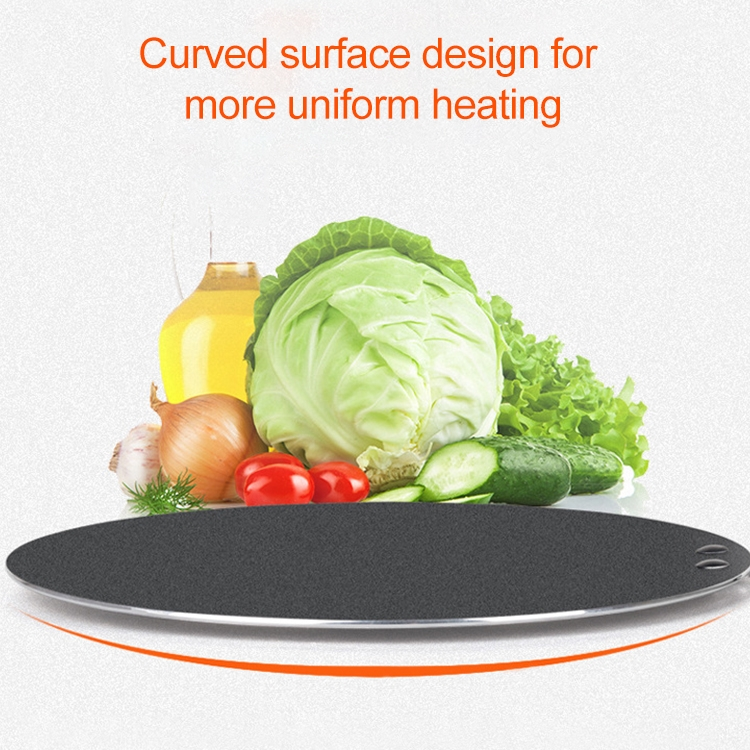 Pancake Fruit Pan Non Stick Pan Steak Frying Pan Multigrain Pancake Baking Tool, Size: 30cm (Black)