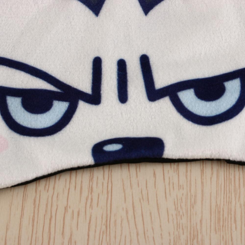 Funny Travel Rest Sleeping 3D Eye Cover Ice Mask (White)