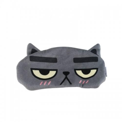 Funny Travel Rest Sleeping 3D Eye Cover Ice Mask (Black)