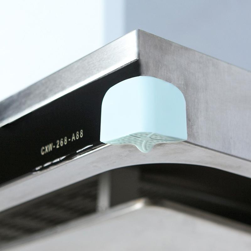 2 PCS Starfish Luminous Soft Silicone Children Anti-Collision Table Corner Cover Protective Pad (White)