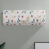 Air Conditioner Cover Hanging Air Conditioning Anti-Dust Dust All Inclusive Cover, Specification: 86x31x21cm (Flower)