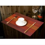 2 PCS Home Table Cup Mat Creative Decor Coffee Drink Placemat Tableware, Size: 45x30cm (Red)
