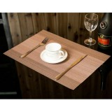 2 PCS Home Table Cup Mat Creative Decor Coffee Drink Placemat Tableware, Size: 45x30cm (Coffee)