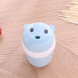 Household Cute Cartoon Toothpick Holder Portable Restaurant Hotel Toothpick Can Box (Blue)