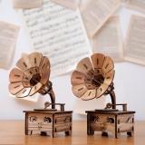 Creative Retro Nostalgic Phonograph Music Box Music Box Model Ornaments