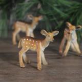 Deer Animal Resin Ornaments Creative Home Christmas Gift Decorations