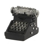 Retro Old Creative Resin Mini Ornaments Home Decorations Shop Shooting Props (Typewriter)