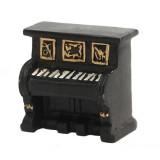 Retro Old Creative Resin Mini Ornaments Home Decorations Shop Shooting Props (Piano)