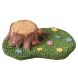 Pastoral Micro Landscape Landscaping Resin Ornaments Without Hedgehog