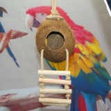 Coconut Shell Bird Nest Parrot Coconut Pet Supplies Toys (With Coconut Shell)