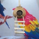 Coconut Shell Bird Nest Parrot Coconut Pet Supplies Toys (Polishing Coconut Shell)