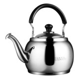 Stainless Steel Kettle Extra Thick Whistle Burning Kettle Home Teapot Large Capacity (4.8L Sun kettle)