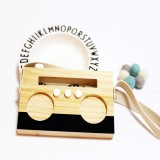 Simple Log Recorder Hanging Children Room Children Clothing Store Decorative Photography Props (Black)