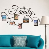 Simple Creative Photo Frame Living Room Bedroom Decorative Wall Stickers PVC Removable Wall Stickers